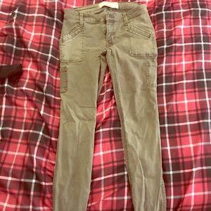 Hollister size 00 super skinny jeans